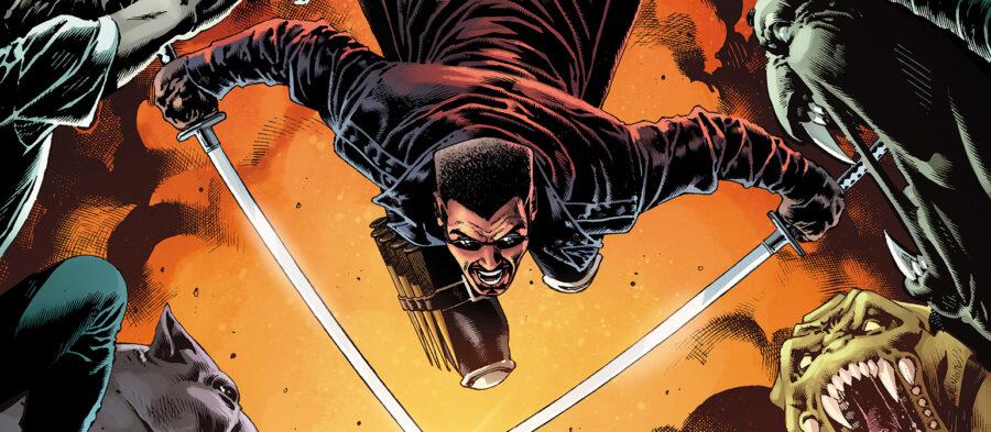 Marvel Blade comic