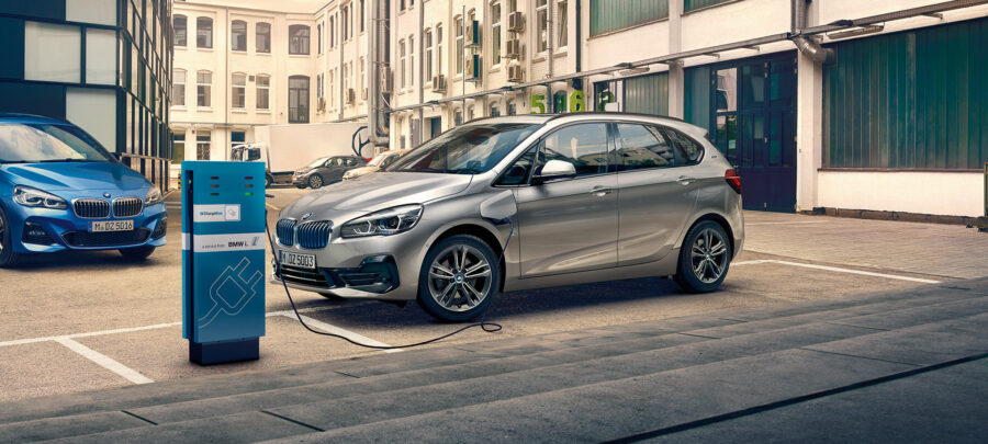 BMW's electric car