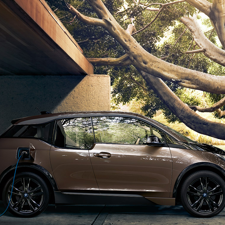 BMW's electric car charging