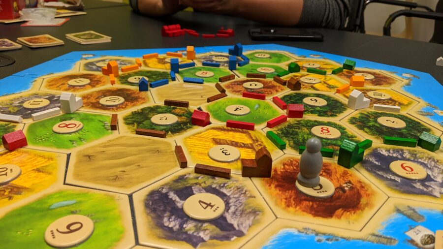 Best Catan strategy board game
