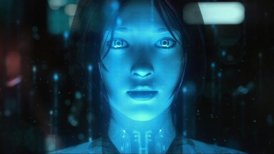 Cortana on Showtime show