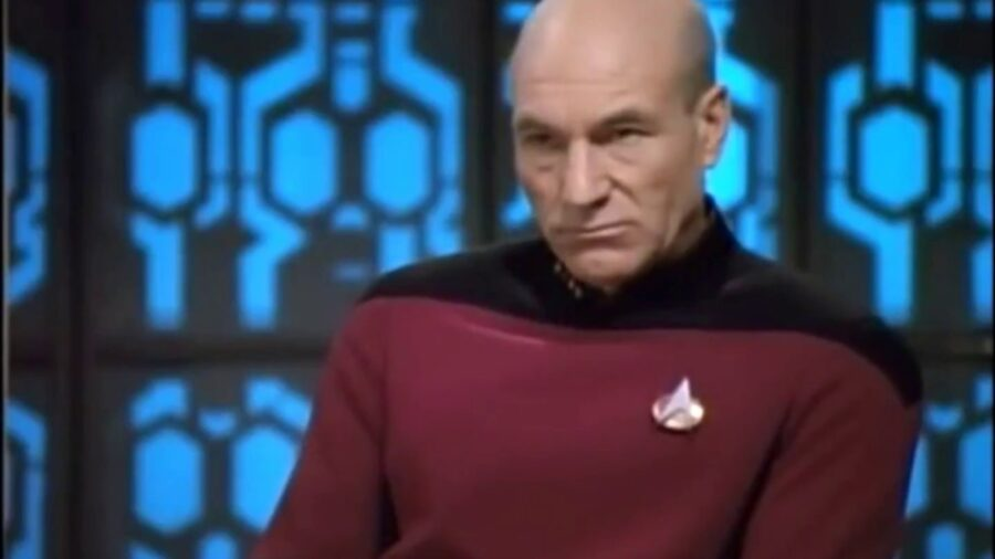 Picard at his best in The Drumhead