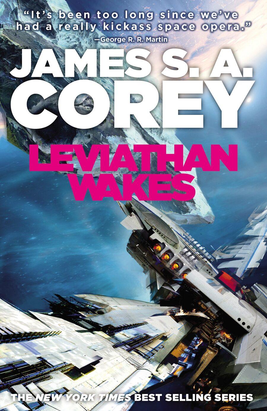 The Expanse sci-fi novels
