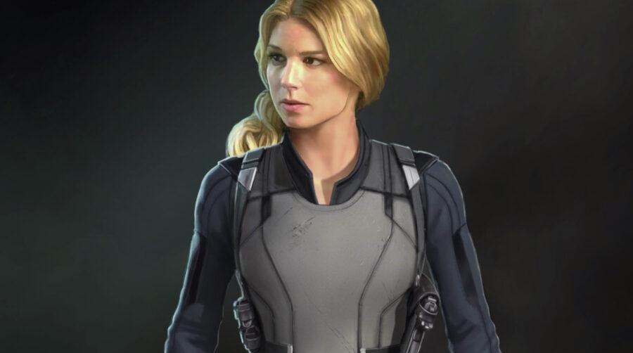 Sharon Carter concept in Falcon