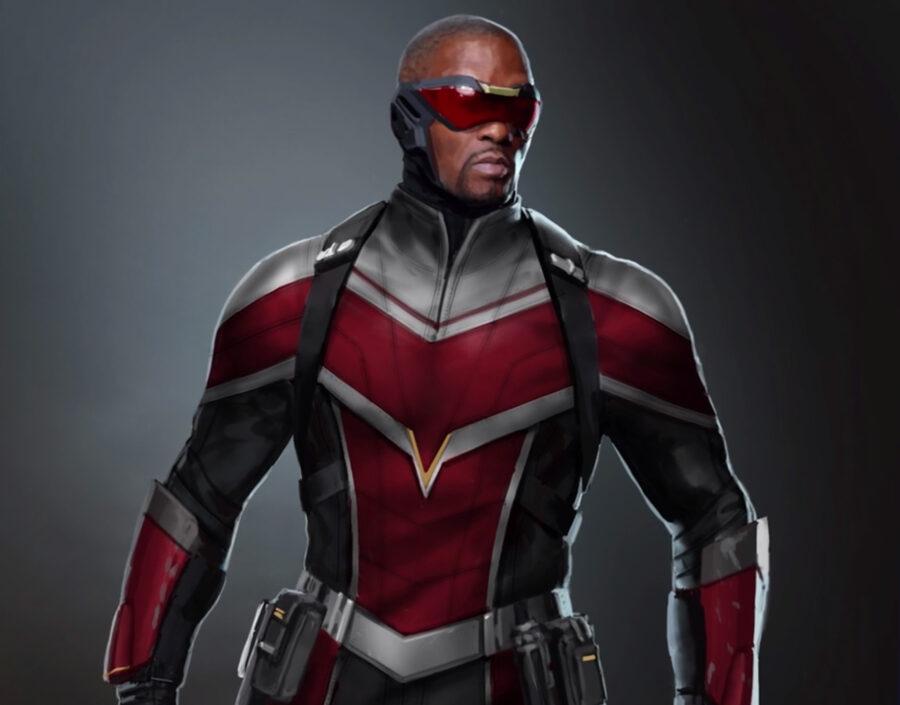 Falcon's new costume