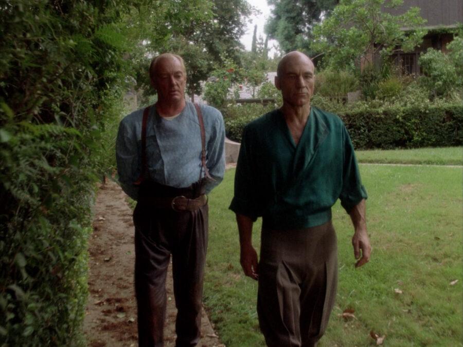 Picard in Next Gen's Family Episode