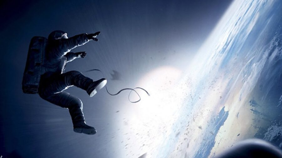 astronaut in gravity