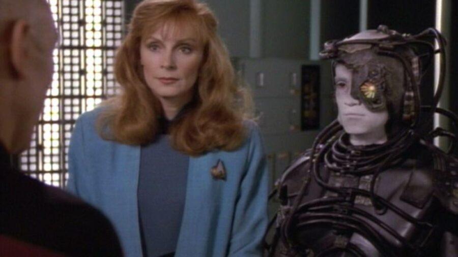 Picard and Hugh