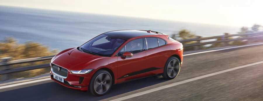 Jaguar's electric car