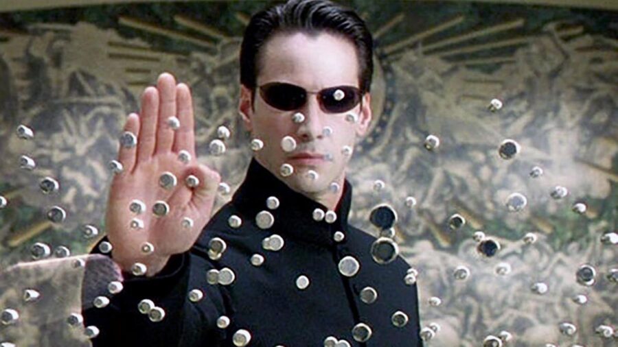 Keanu Reeves in The Matrix 4