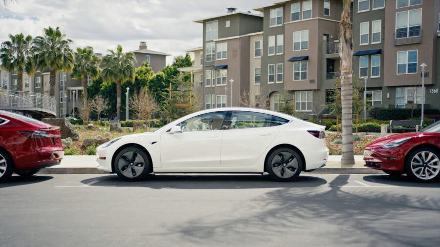 Tesla's electric car