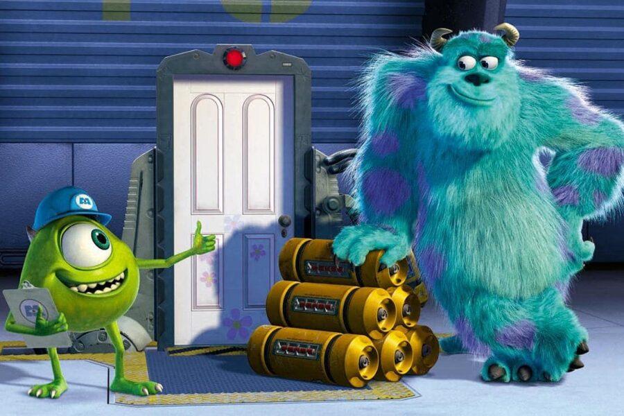 Monsters, Inc. movie on Disney Plus