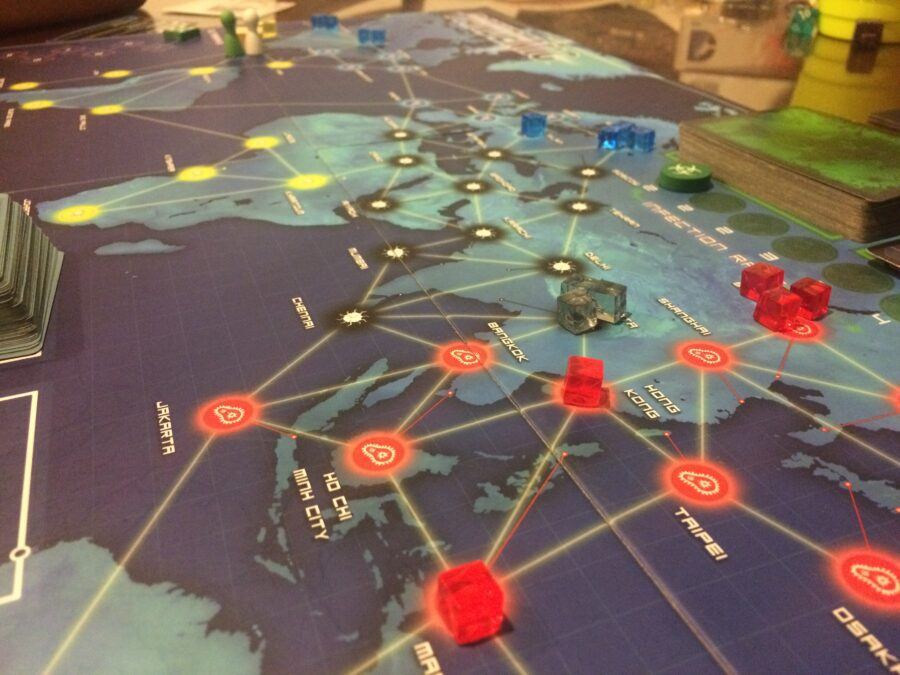Pandemic strategy board