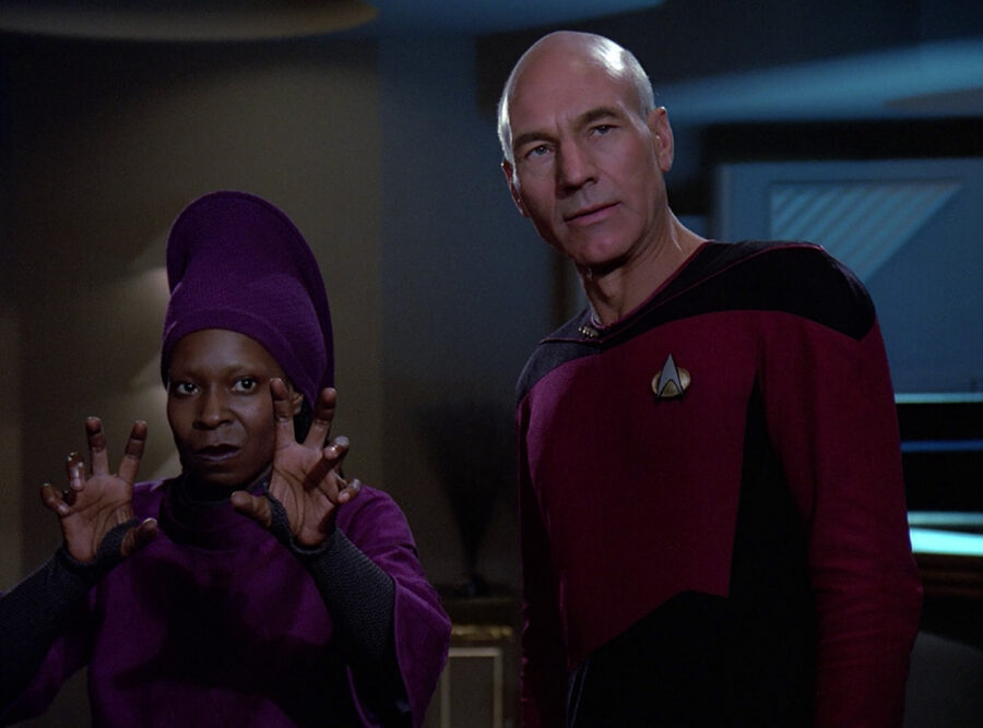 Picard in Q Who