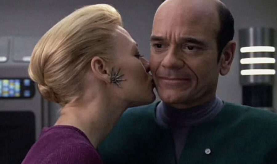 Seven of Nine and The Doctor