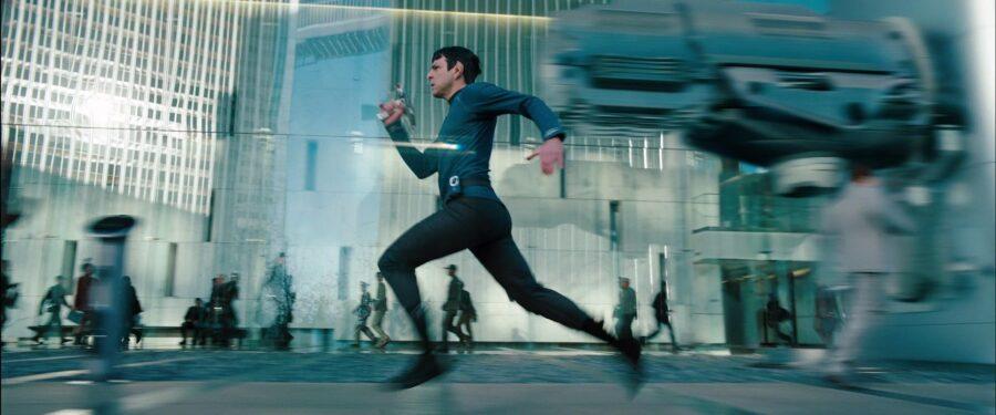 Spock Running Into Darkness