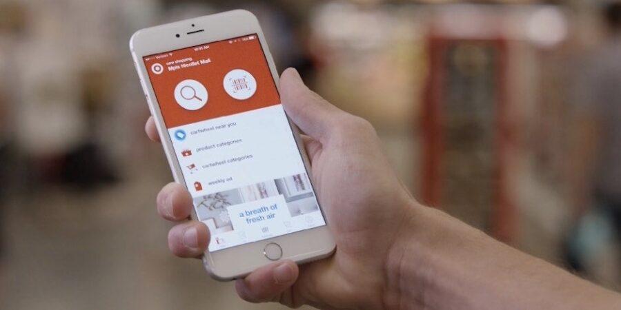 Target app shopping