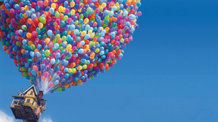 UP Balloons on Disney Plus