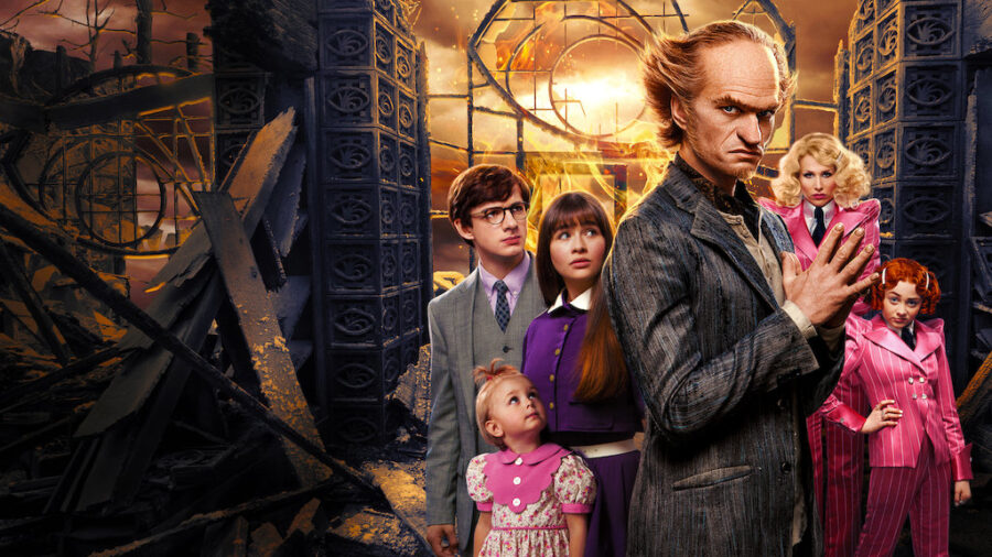 Lemony Snicket series poster