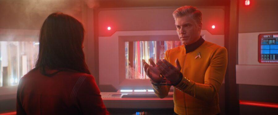 Captain Pike in Short Treks