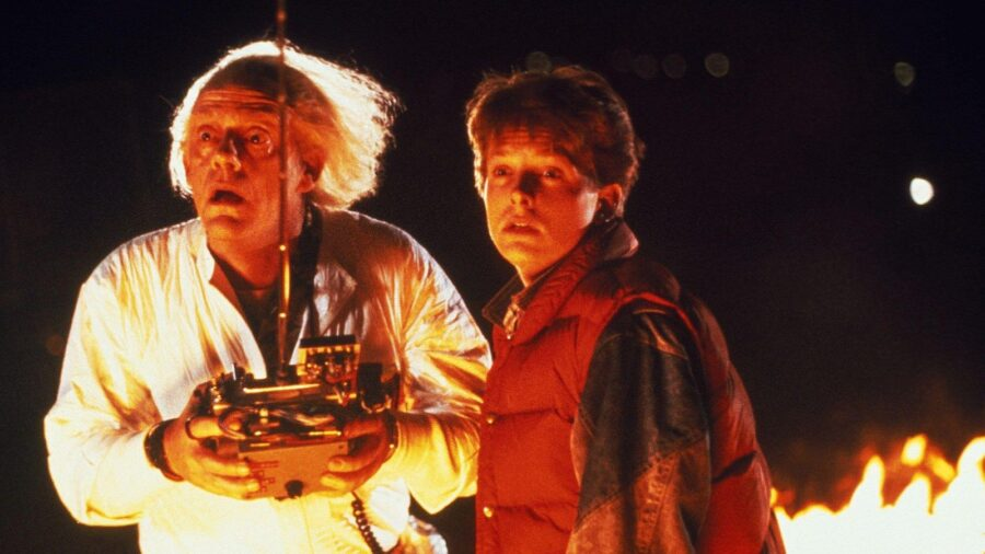 Doc Brown and Marty are family