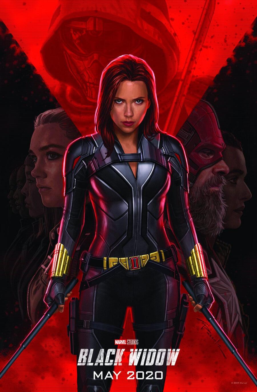 Black Widow's superhero movie solo poster