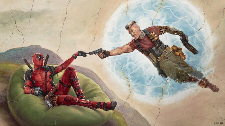 Deadpool painting