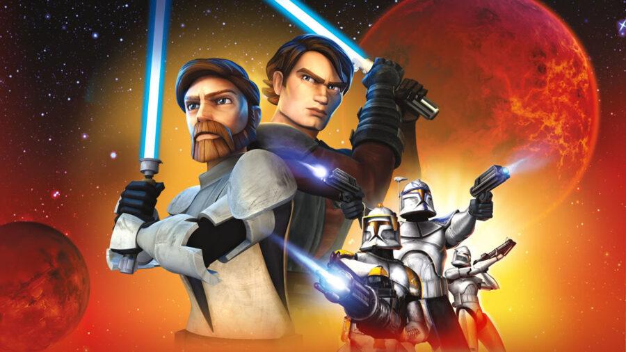 Star Wars Animation in order