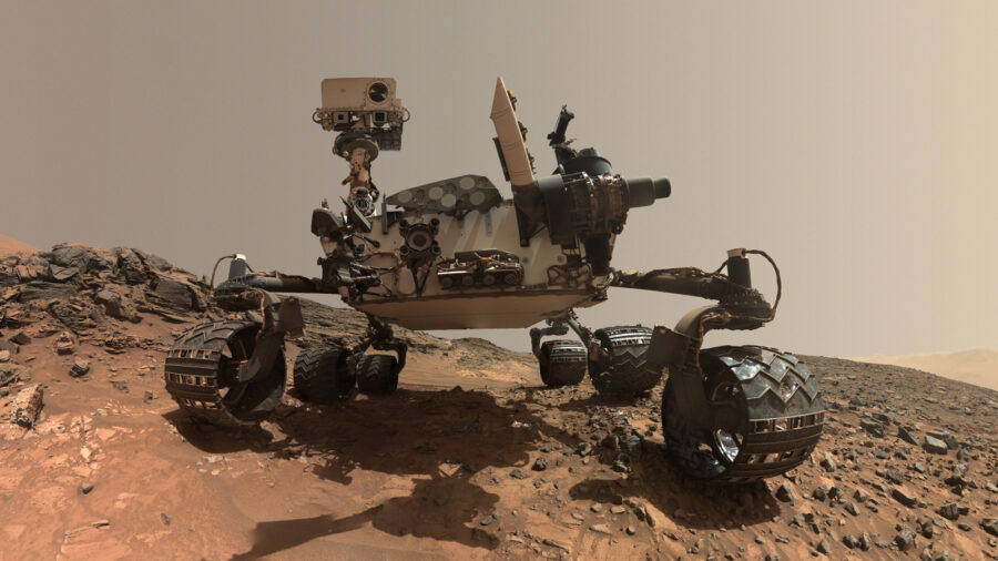 Curiosity Rover using AI