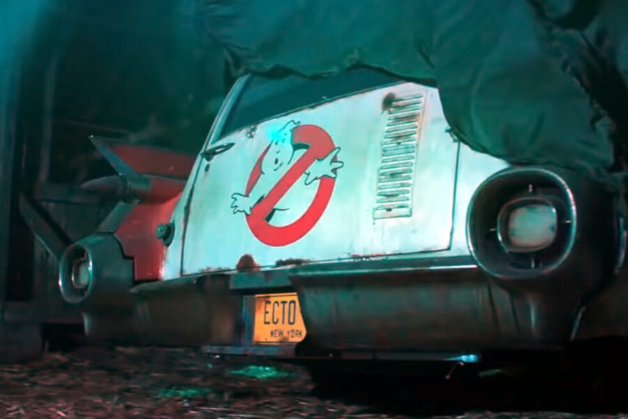 Ghostbusters Afterlife Car