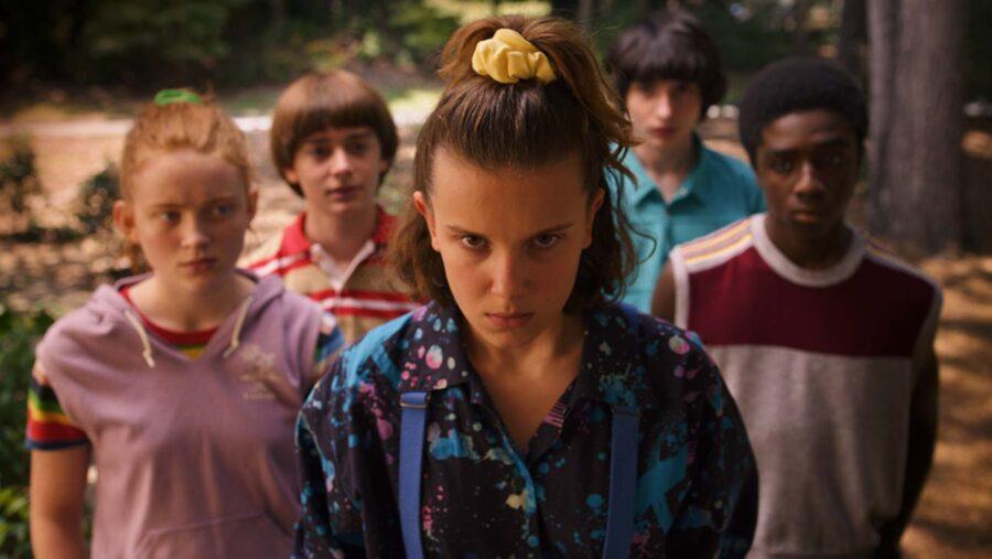 Eleven and friends in Season 3