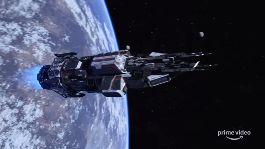 Space Shot From Amazon's show