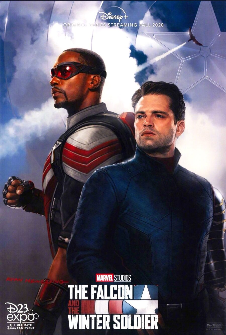 Falcon and the Winter Soldier poster