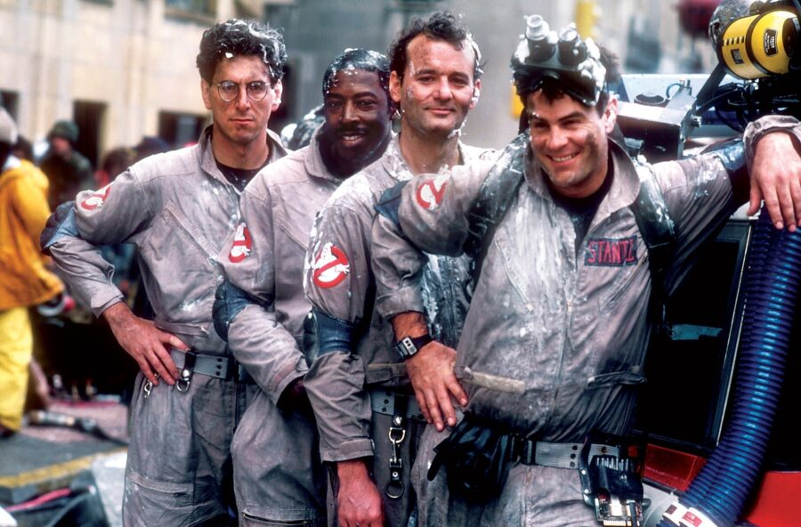 The Ghostbusters family
