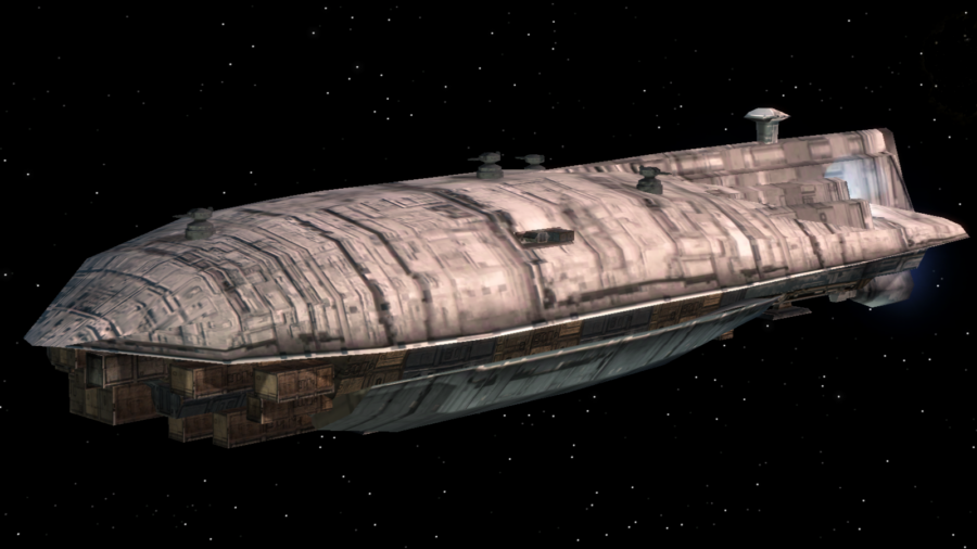 Star Wars cargo ship