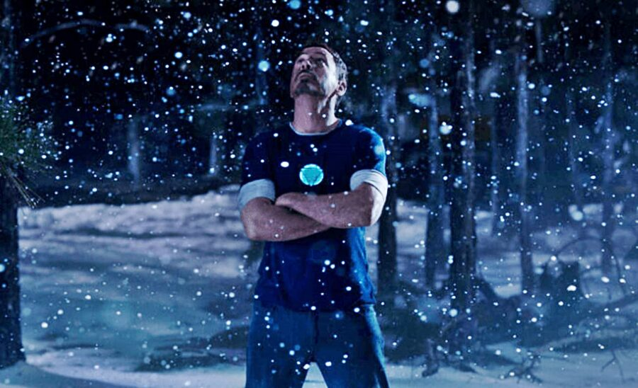 Tony Stark's Christmas