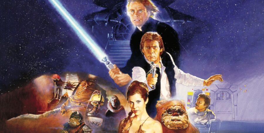 Return of the Jedi in order