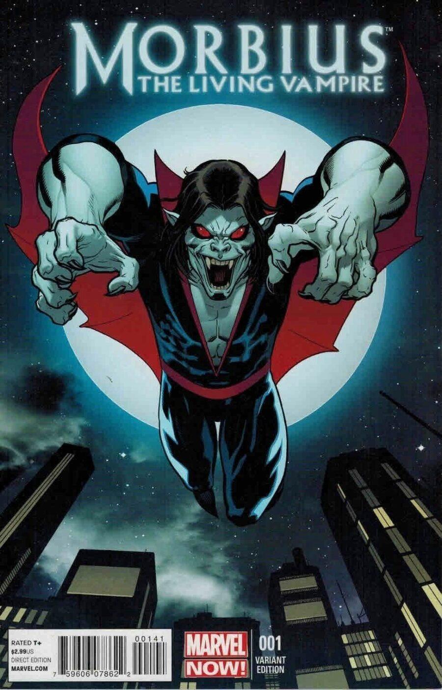 Morbius comic cover