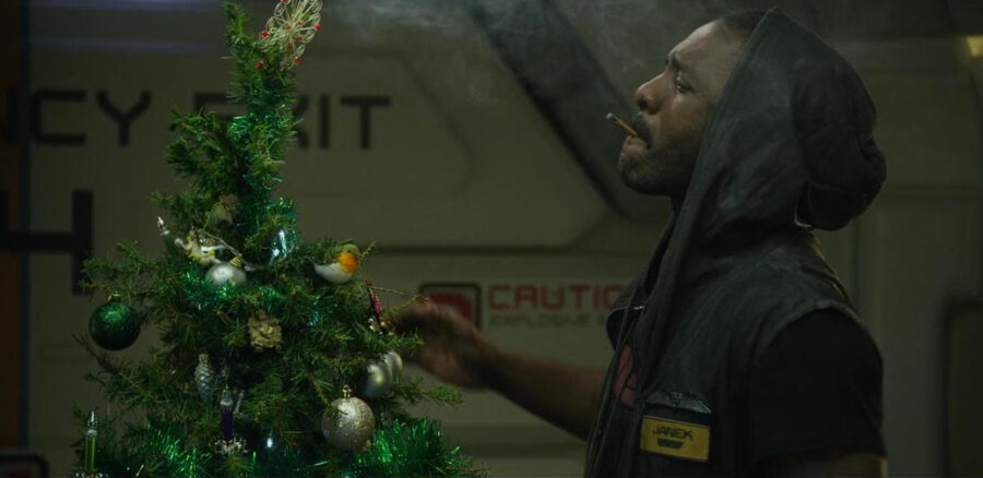 Idris Elba celebrates Christmas