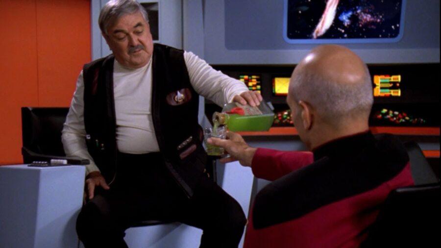 Scotty on Star Trek: The Next Generation