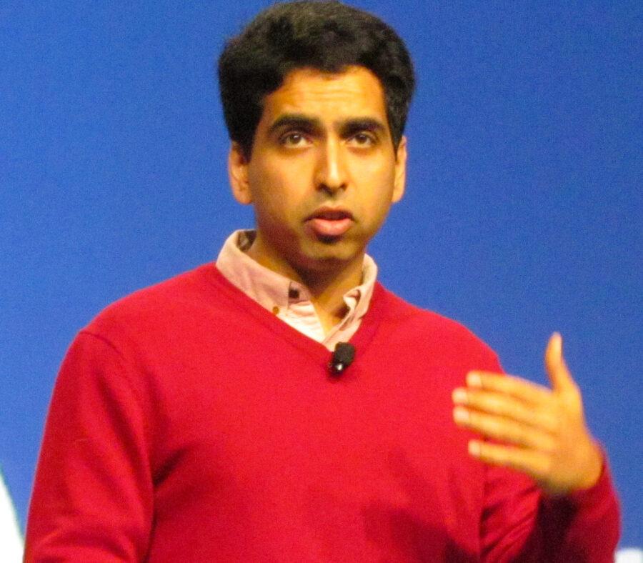 Khan Academy's founder
