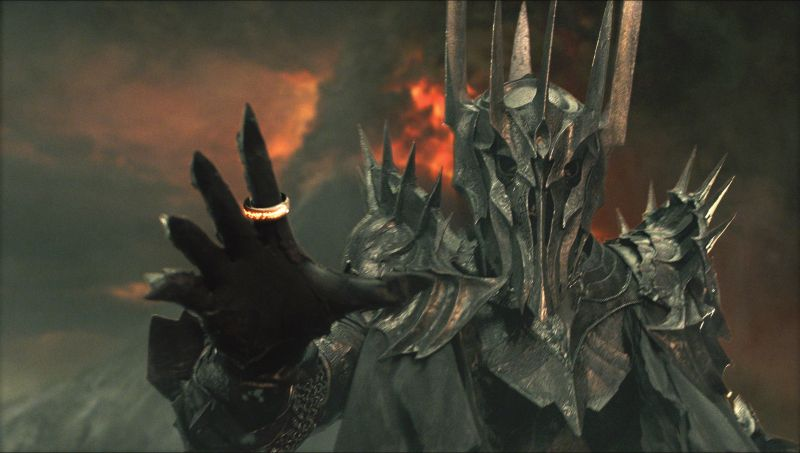 Sauron as he'll appear in Amazon's Lord of the Rings
