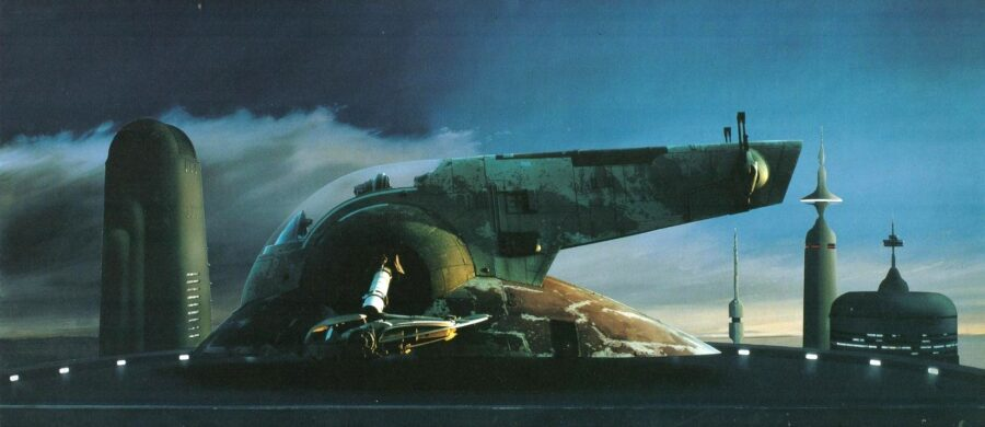Star Wars Bounty Hunter Ship