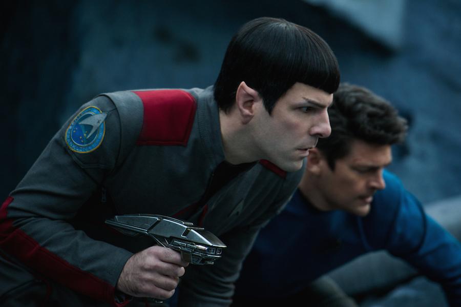 Spock and Bones for Star Trek 4