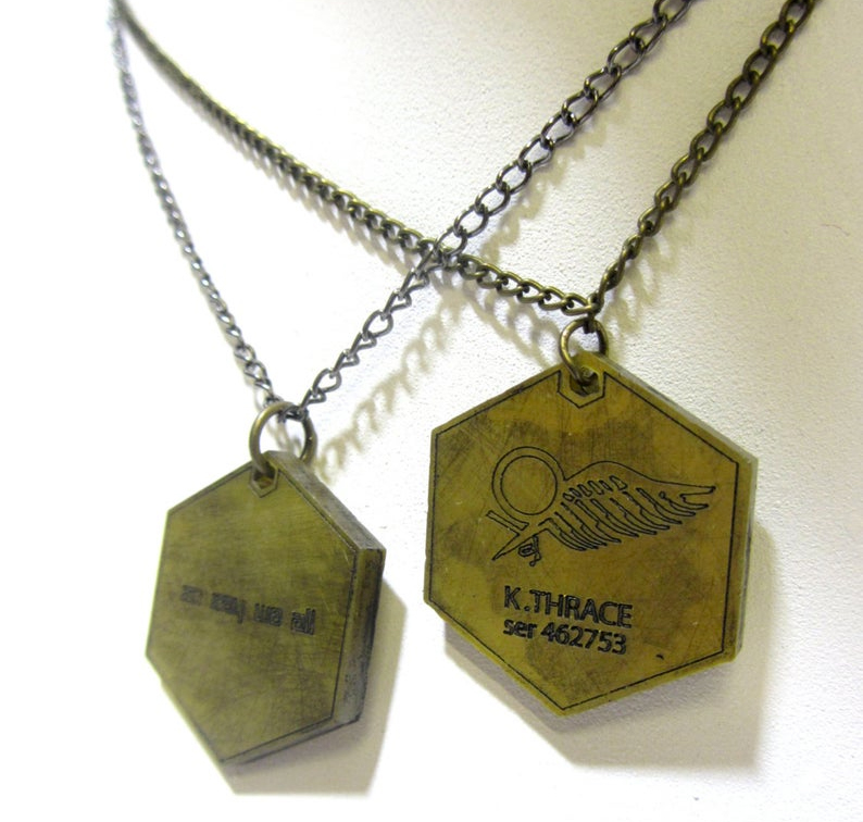 Starbuck dog tags