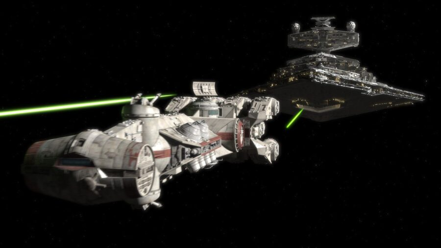 Star Wars first ship
