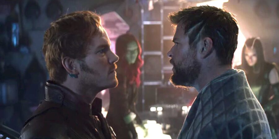 Star Lord and Thor