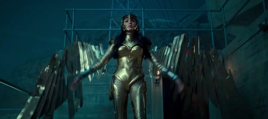 Wonder Woman gold armor