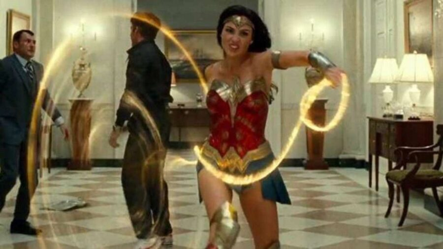Wonder Woman in the whitehouse