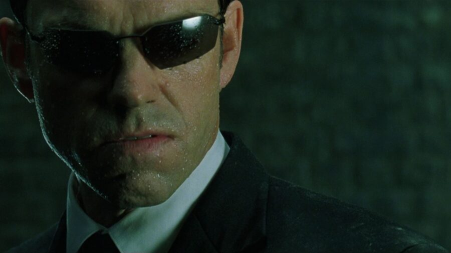 Agent Smith in The Matrix